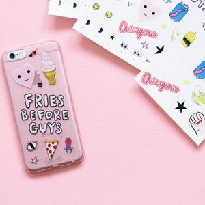 ban.do - Fries Before Guys iPhone Case w/Stickers